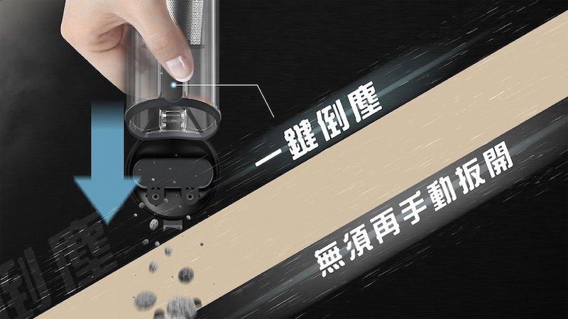 AutoBot VX 無線車家兩用吸塵機 (吸力達13000pa)