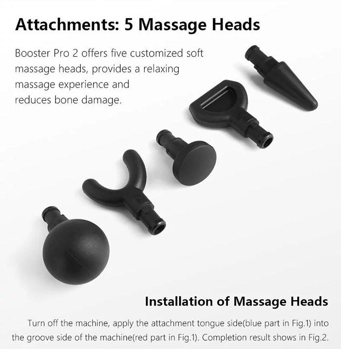 Boluojun Booster Pro2 Massage Gun 深層肌肉按摩槍