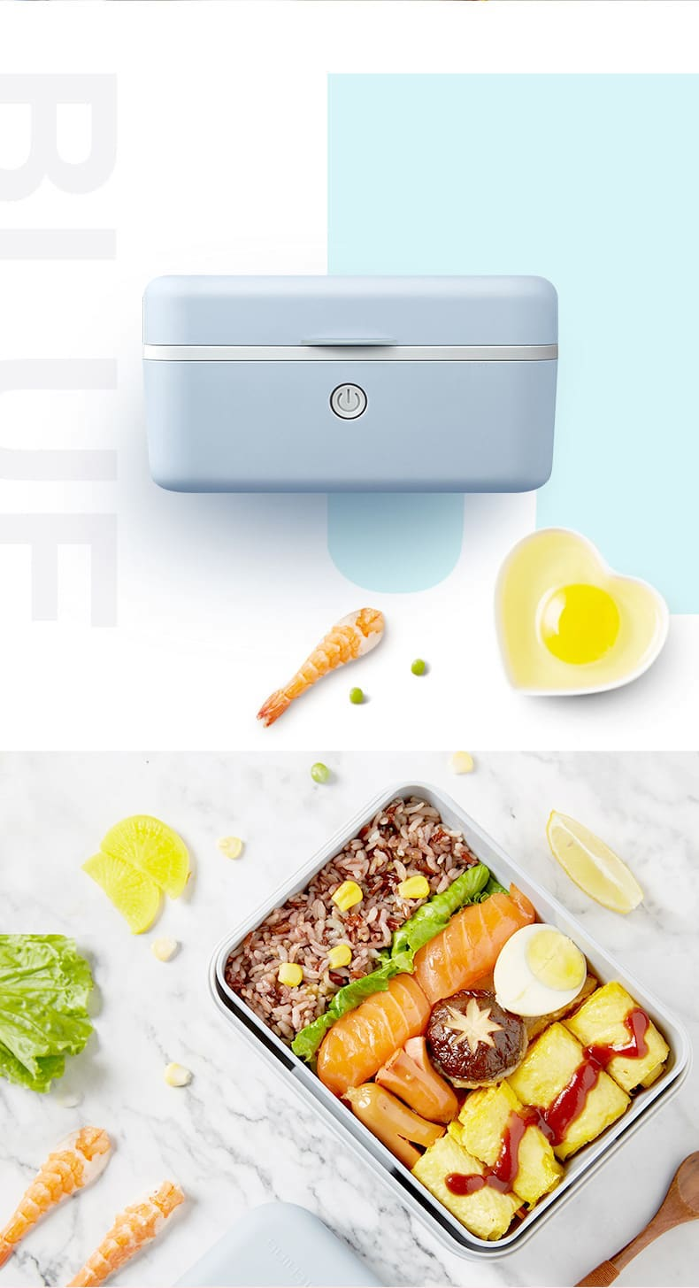 CoolThing日式蒸汽加熱保溫飯盒
