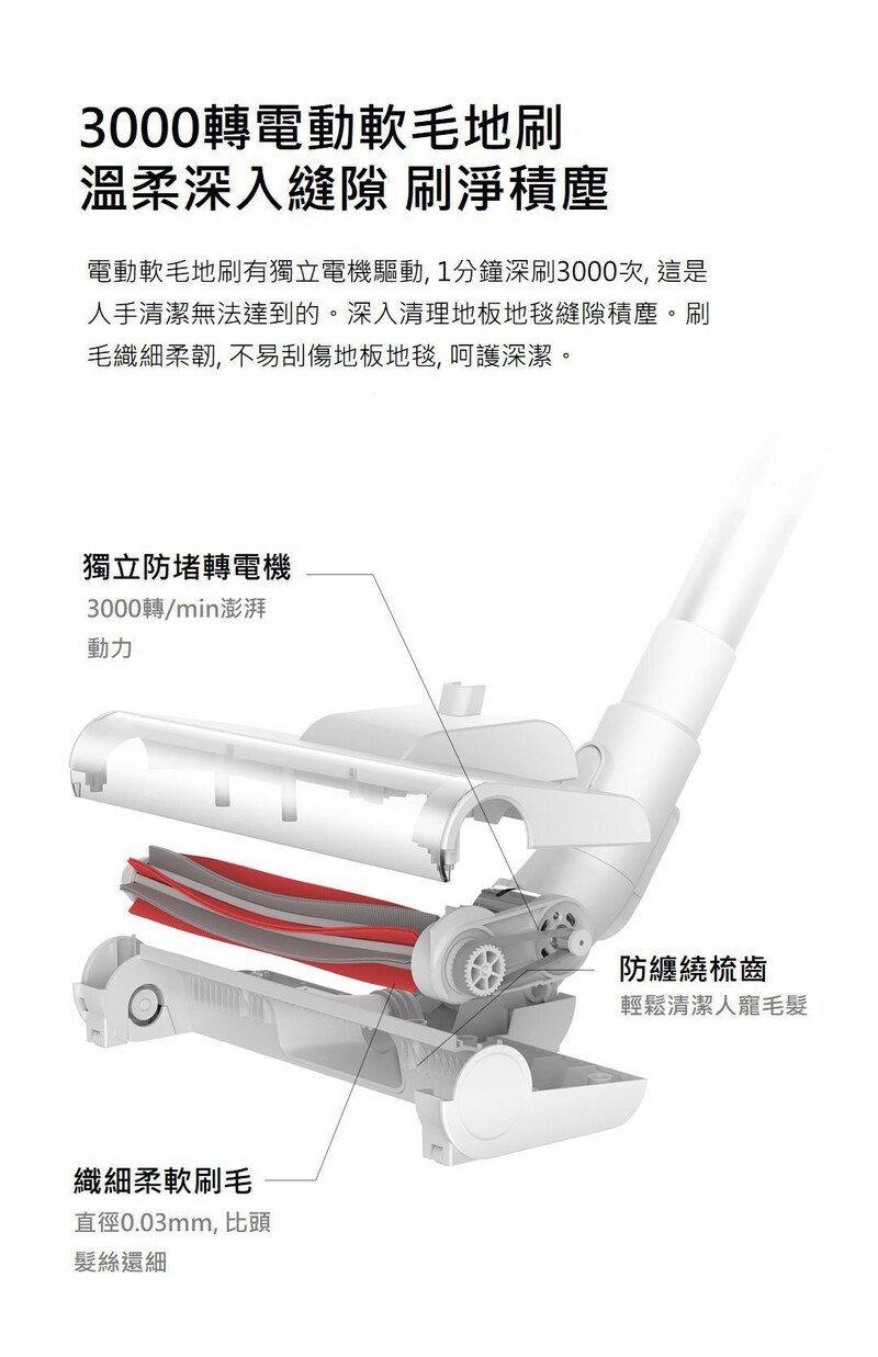 Deerma VC20 德爾瑪靜音無線手持式吸塵機