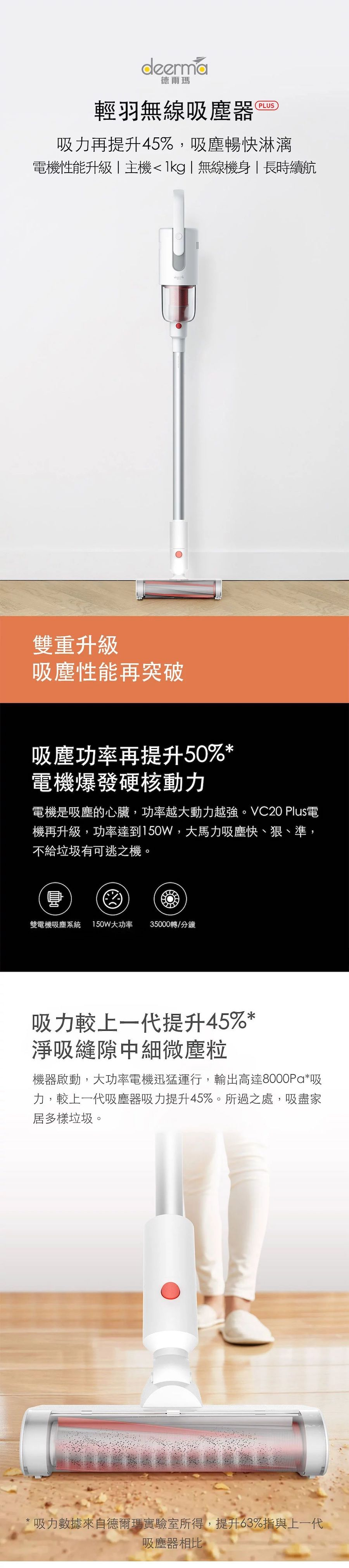 Deerma 手持無線吸塵機 VC20 Plus