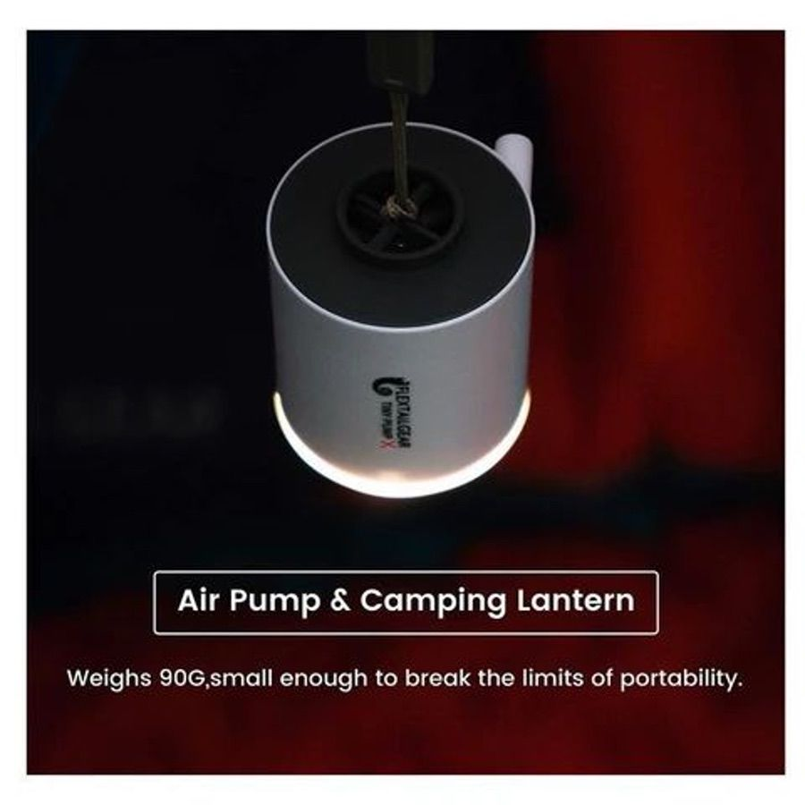 Flextailgear Tiny Pump X 二合一迷你電充氣抽氣泵 連照明露營燈