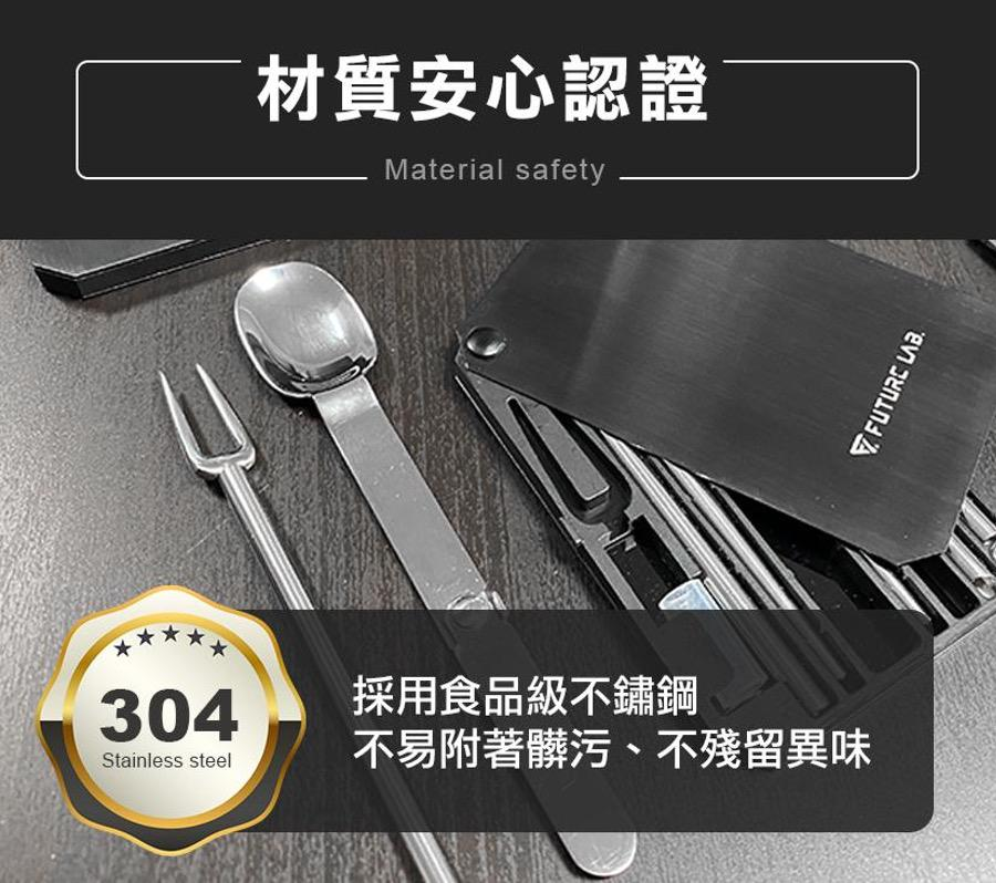 LUNCHCARD 不鏽鋼環保餐具卡