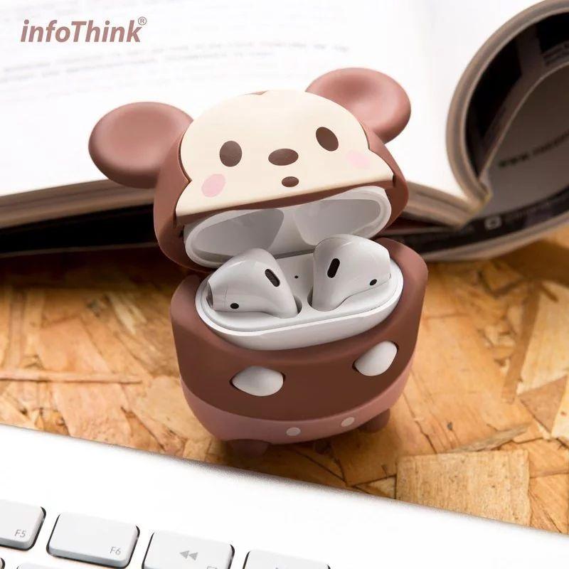 infoThink 米奇系列無線耳機造型保護套for AirPods