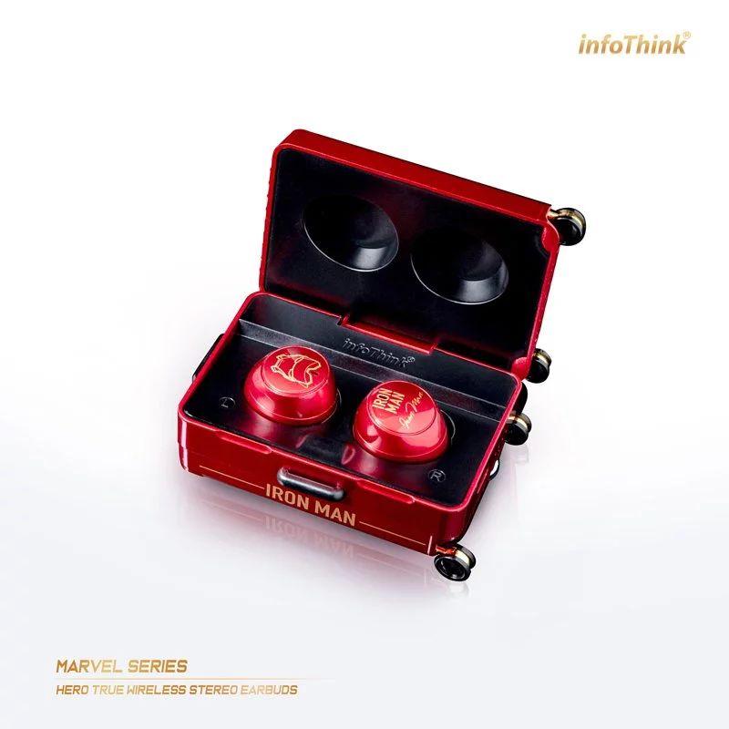 InfoThink 漫威系列Les héros真無線藍牙耳機 - 鋼鐵人 iTWS100-IM