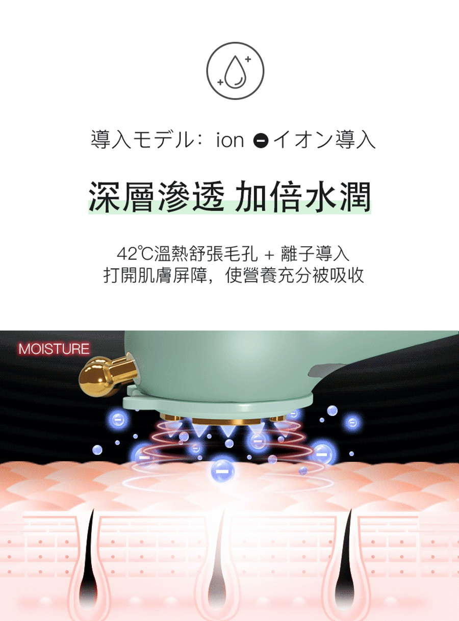 日本 JUJY 多功能深層導入儀