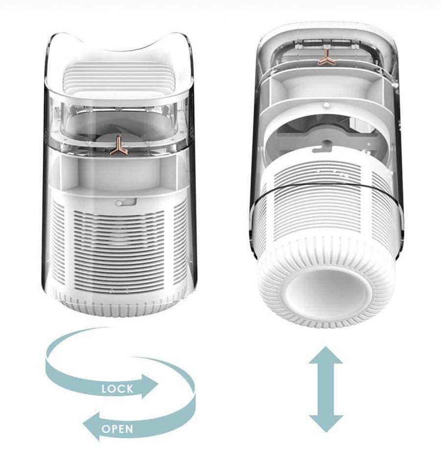 3life 貓咪USB智能滅蚊燈