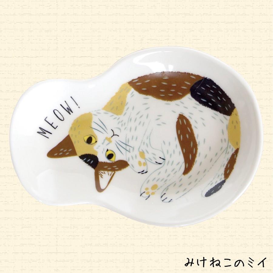 MEOW!MEOW! 貓貓瓷細碟(日本直送)