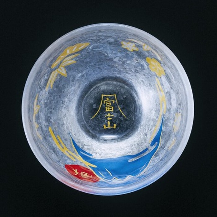 めでたmono 玻璃小酒杯(日本直送)
