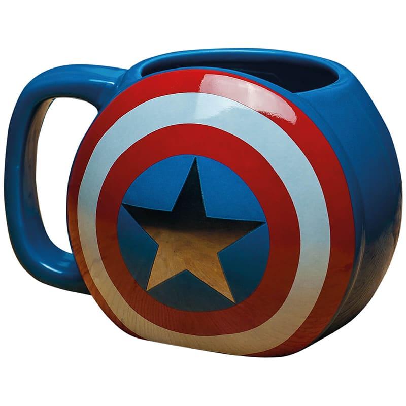 Captain America Shield Mug 美國隊長陶瓷杯 復仇者聯盟