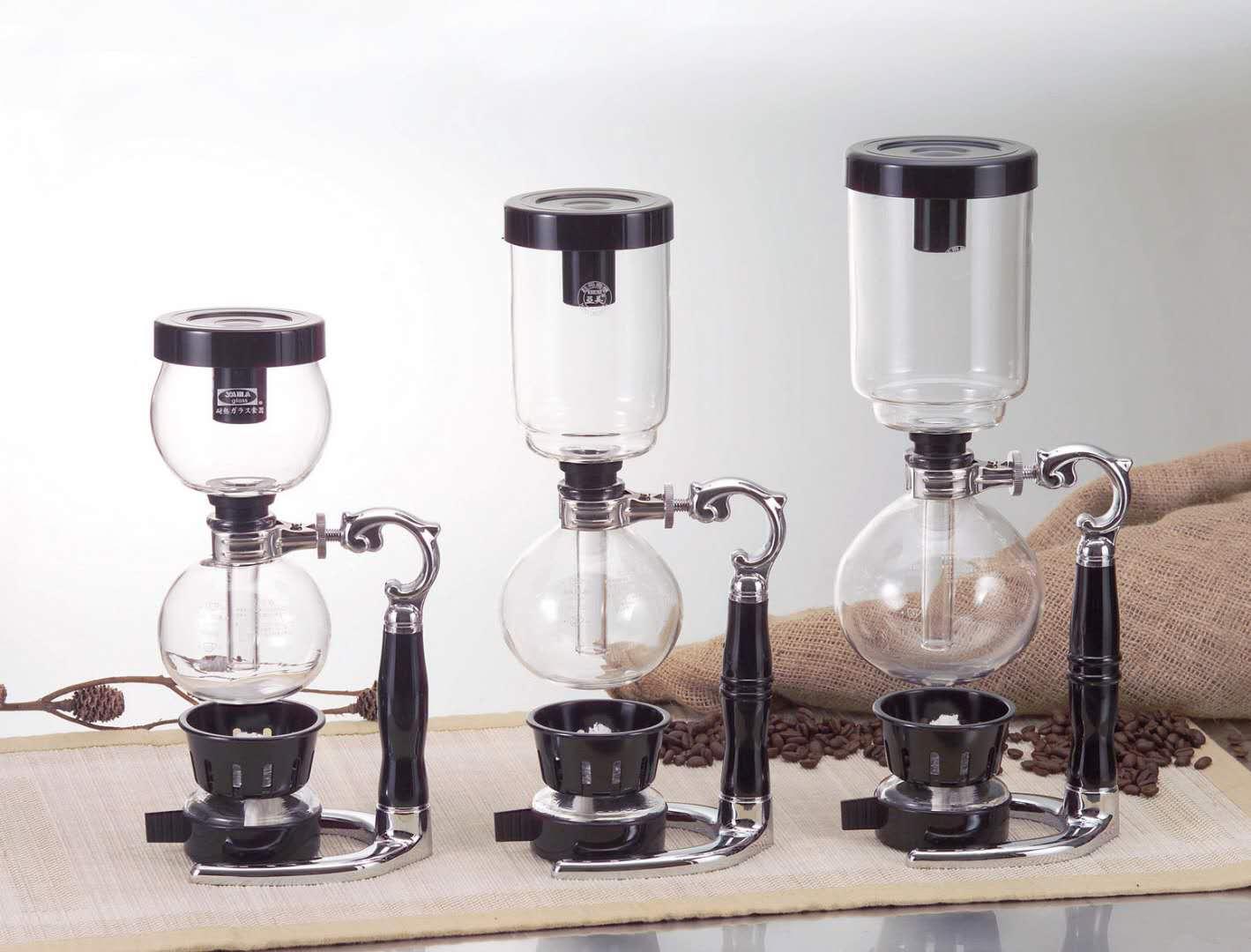虹吸式玻璃咖啡壺(二人份)