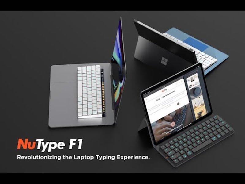 NUPHY Nutype F1 MacBook專用 藍芽機械鍵盤
