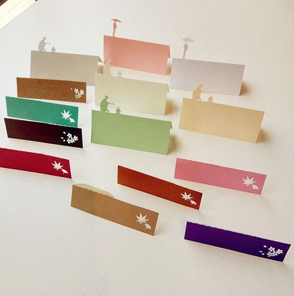 清水寺紙雕模型紙箋
