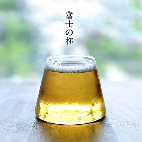 富士山玻璃杯