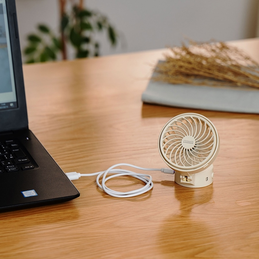 日本 Prismste 5合1 USB迷你風扇