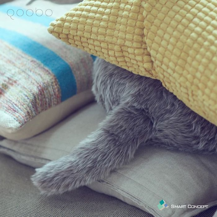 Qoobo 寵物型擺尾機械抱枕