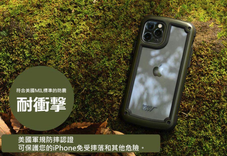 日本ROOT CO. Shock Resist Tough & Basic iPhone 12/Pro/Max/Mini Case