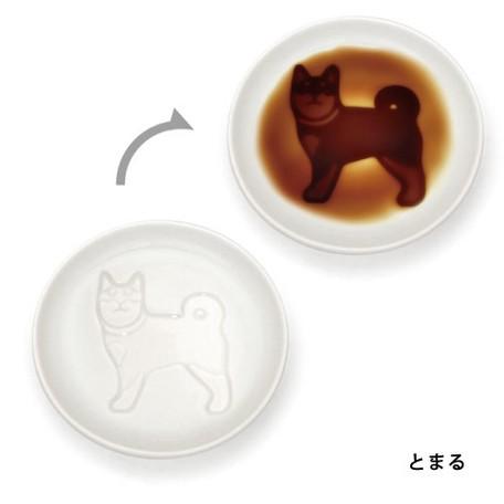 小狗醬油碟(日本直送)