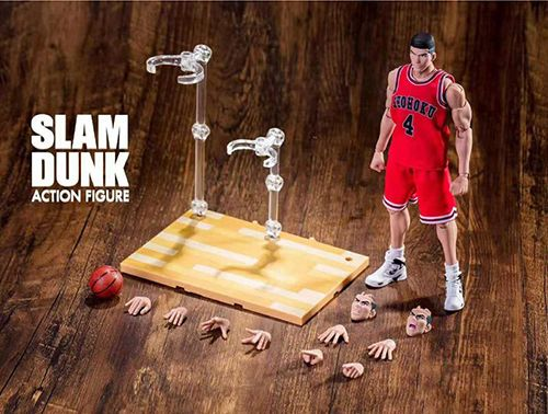 大聖 模型 SLAM DUNK 男兒當入樽 可動 Figure 赤木剛憲大猩猩
