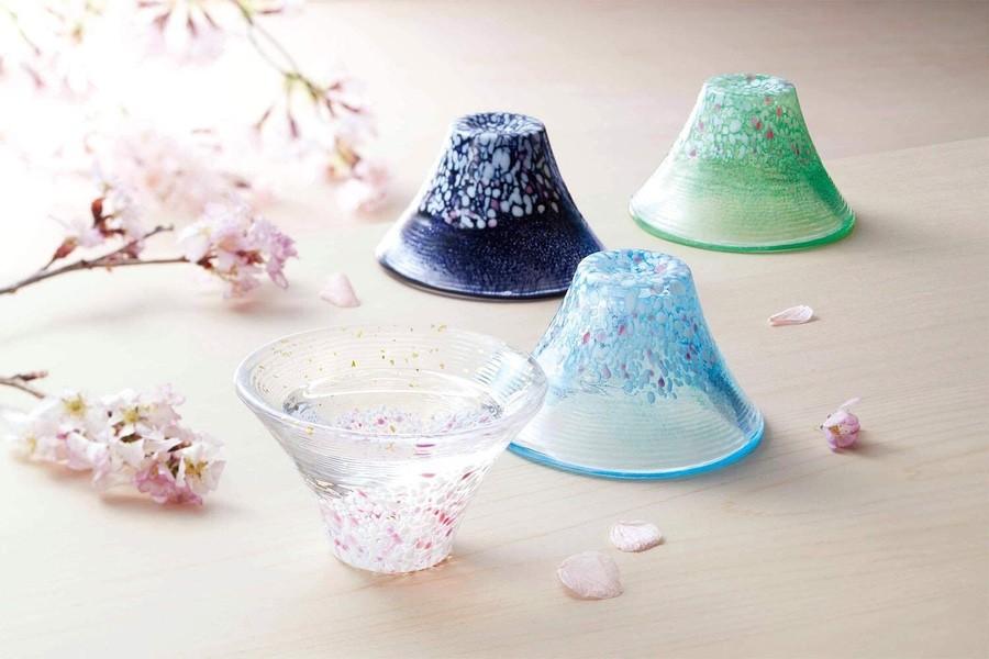 東洋佐佐木 日本富士山  玻璃清酒杯 (日本直送)