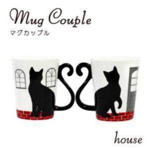 貓尾陶瓷mug杯日本直送-0