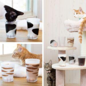 coconeco 貓腳玻璃杯(日本直送)