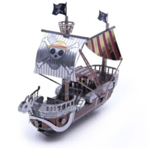 3D鐵片模型 動漫 前進梅利號
