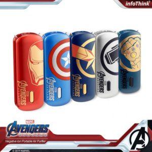 InfoThink 隨身淨系列 - 隨身項鍊負離子空氣清淨機 - Marvel Avengers 復仇者聯盟