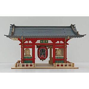 淺草寺雷門木製模型(日本直送)