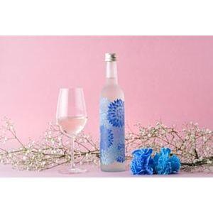 大理花束酒瓶-日本酒 特別純米酒