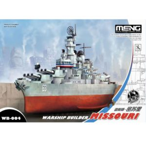 MENG 戰艦Q版 美國密蘇里號
