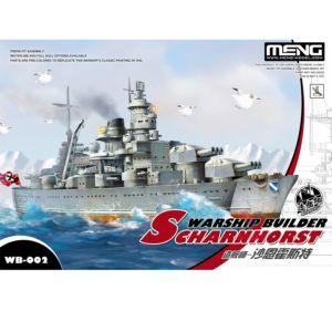 MENG 戰艦Q版 沙恩霍斯特列