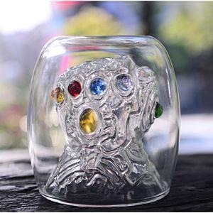 復仇者聯盟 Avengers Thanos 滅霸 無限手套 玻璃杯