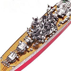 3D 鐵片模型 戰艦 大和號