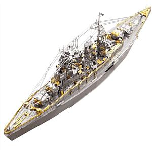3D 鐵片模型 戰艦 長門號