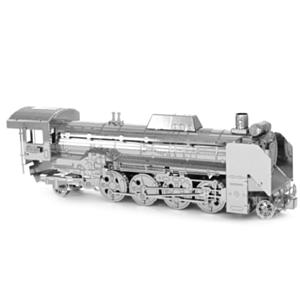 迷你3D鐵片模型 交通 D51蒸汽火車頭