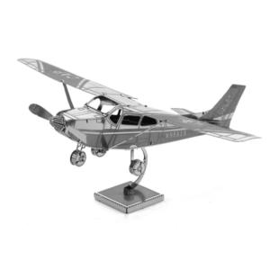 迷你3D鐵片模型 飛機 賽斯納單翼飛機