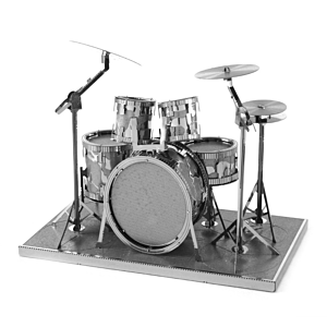 迷你3D鐵片模型 樂器 爵士鼓