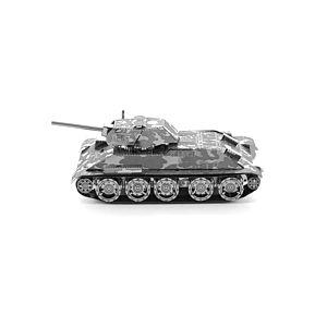 迷你3D鐵片模型 軍事 T34 坦克車