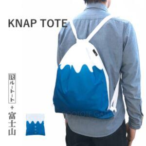 Rootote 富士山背揹折疊環保袋(日本直送)