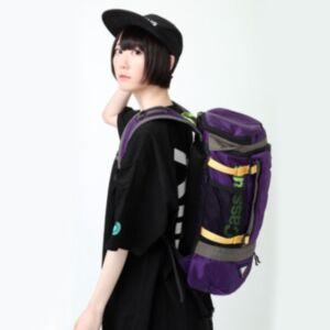 RADIO EVA EVANGELION ABOVE ROUND BACK PACK by FIRE FIRST 登山背囊(日本直送)