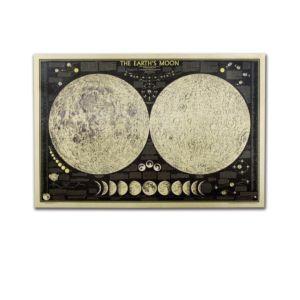 月全食牛皮紙海報