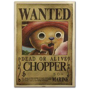 海賊王喬巴復古牛皮紙海報