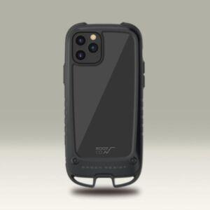 日本ROOT CO. Shock Resist Case +Hold iPhone 12/Pro/Max/Mini Case