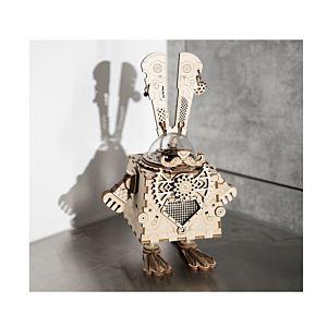 Robotime Rokr 木質音樂盒拼裝模型 Bunny 兔子