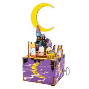 Robotime 八個音符的狂想 DIY 木質 音樂盒 星辰月夜 AM306 Everything is beautiful