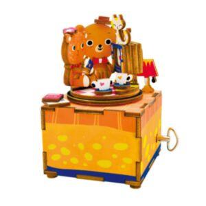 Robotime 八個音符的狂想 DIY 木質 音樂盒 幸福時光 AM310 Chopin Nocturne Op.9 No.2
