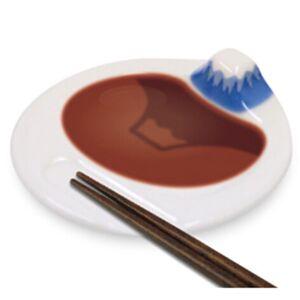 富士山倒影醬油碟(日本直送)