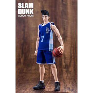 大聖模型 SLAM DUNK 男兒當入樽 陵南 仙道彰(藍色球衣)