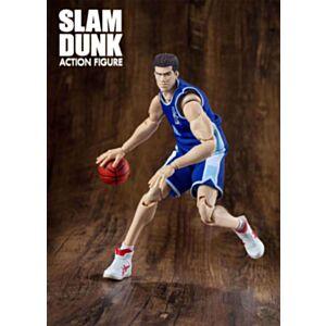 大聖模型 SLAM DUNK 男兒當入樽 陵南 魚住純(藍色球衣)